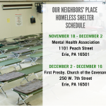 Copy of Dec. 19 Jan. 29 Homeless Shelter Schedule 2