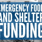 emergency food and shelter